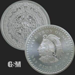 5-oz-Silver-Aztec-Calendar-BU_Golden-State-Mint_777-01