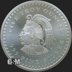 5-oz-Silver-Aztec-Calendar-BU_Golden-State-Mint_obverse-01