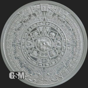 5-oz-Silver-Aztec-Calendar-BU_Golden-State-Mint_reverse